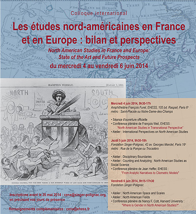 North American Studies in France and Europe: State of the Art and Future Prospects