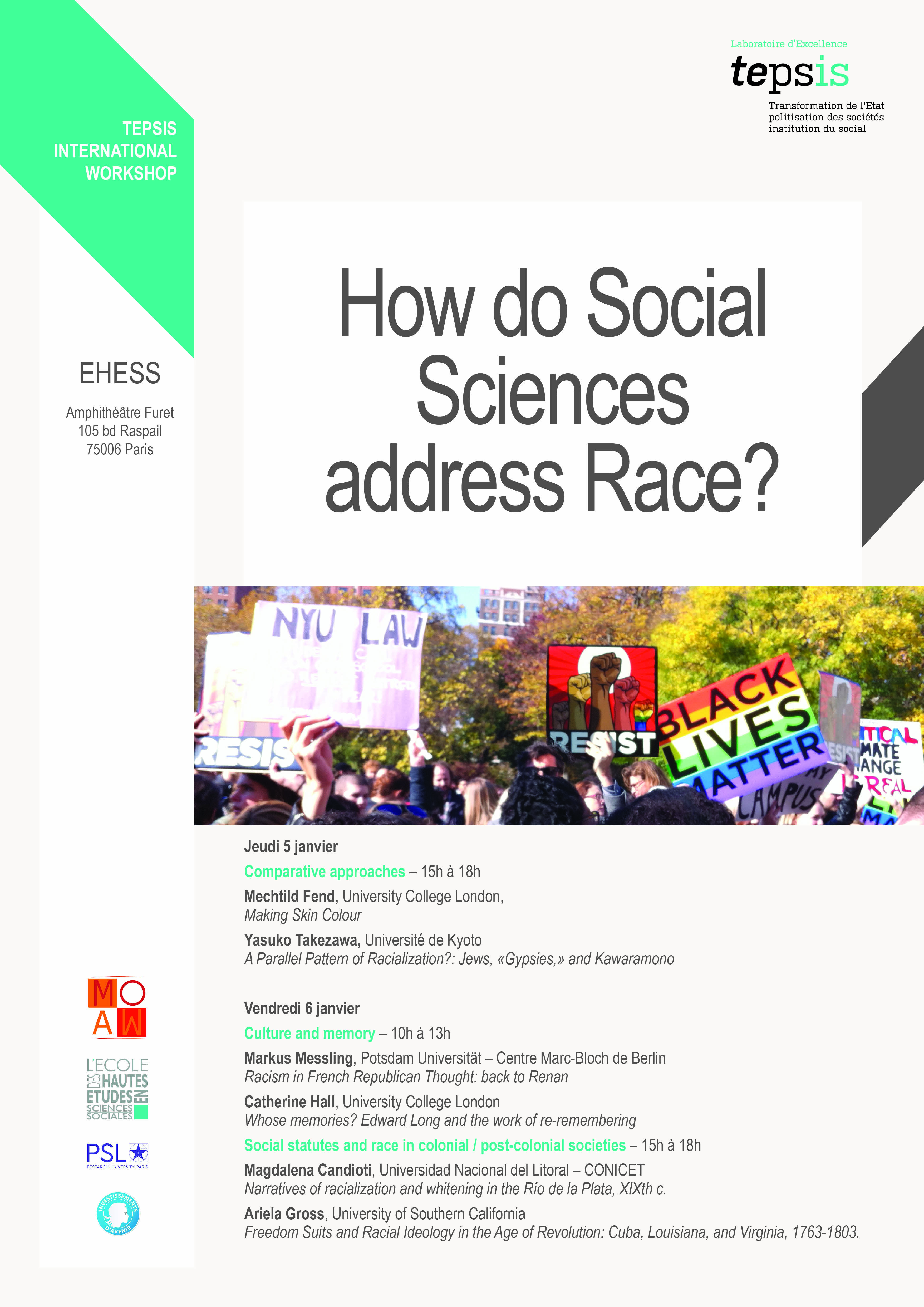 How Do Social Sciences Address Race ?